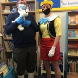 Tintin and Pinocchio